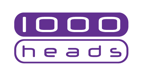 1000heads logo