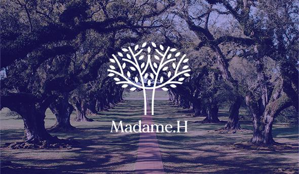 Refonte identité visuelle Madame H - Design & graphisme