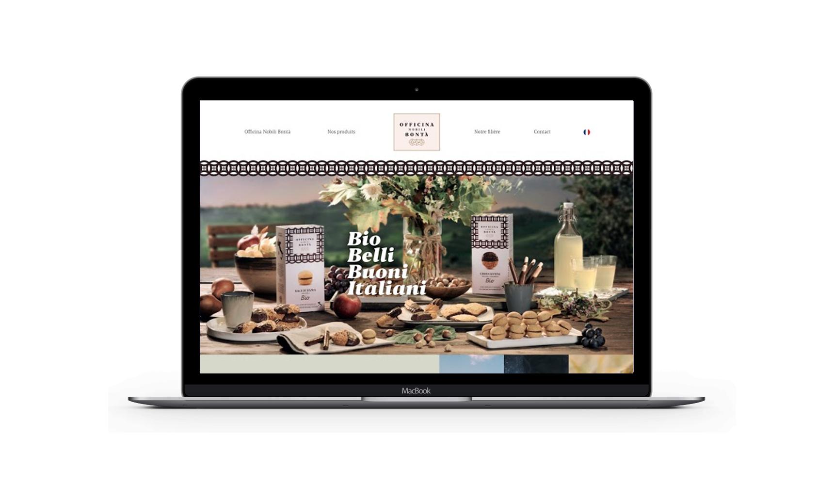 OFFICINA NOBILI BONTA - Création de site - Création de site internet