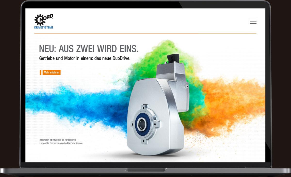 Markenauftritt und Kampagne für NORD DRIVESYSTEMS - Markenbildung & Positionierung