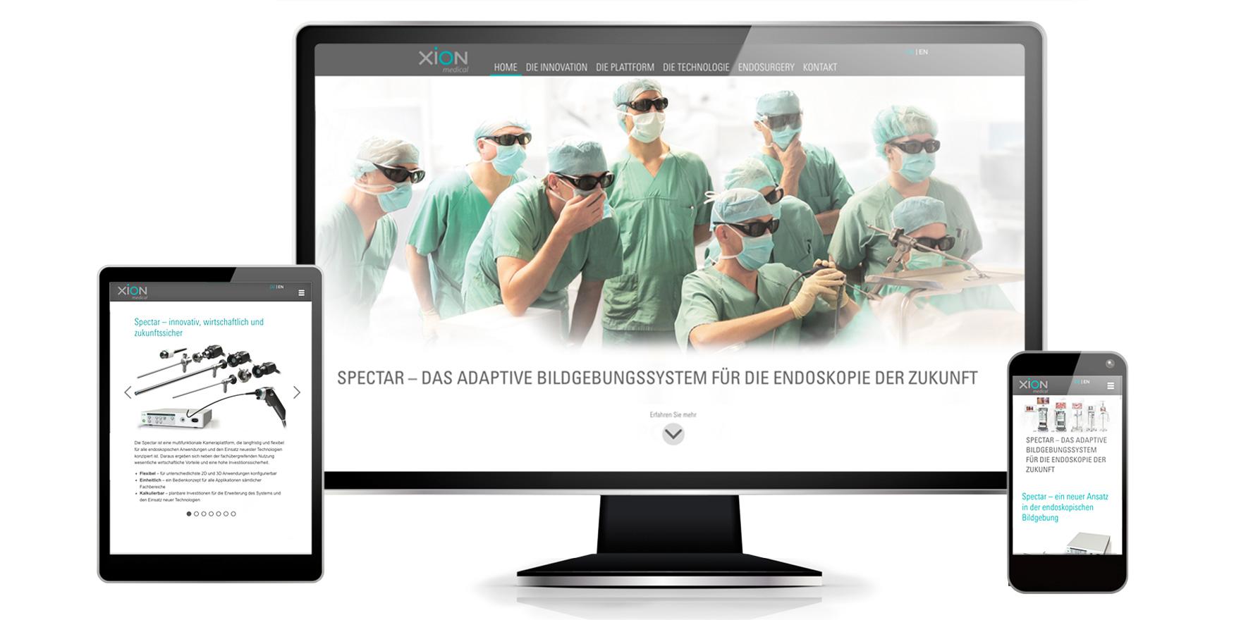 Website zum Produktlaunch - Markenbildung & Positionierung