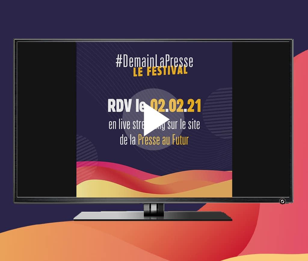 ACPM | #demainlapresse Le Festival - Image de marque & branding