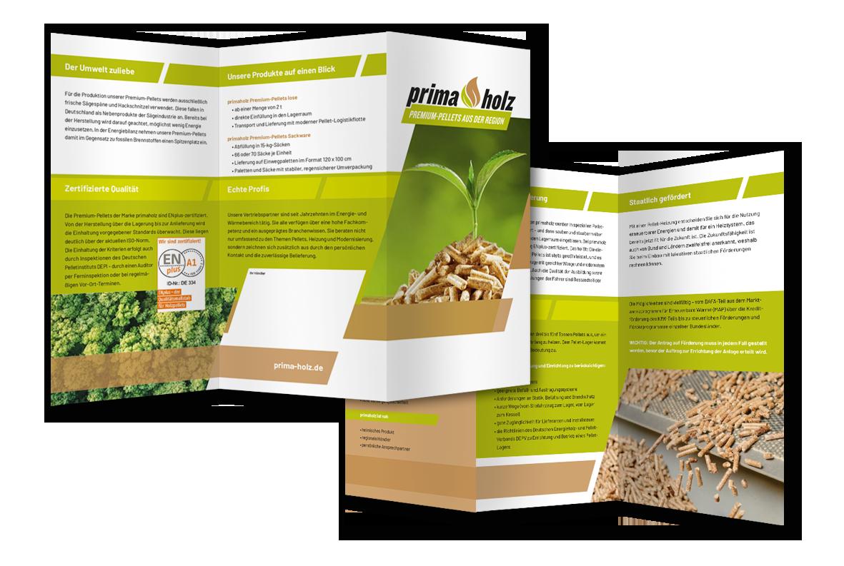 primaholz - Markenbildung & Positionierung