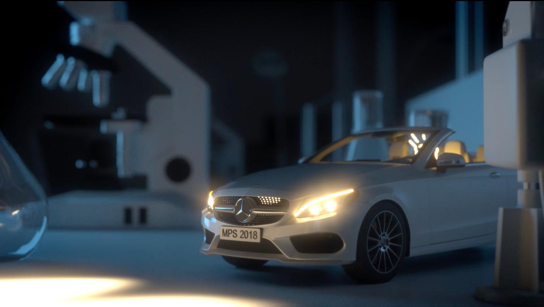 Mercedes-Benz futureLAB 3d animierter Werbefilm - Motion-Design