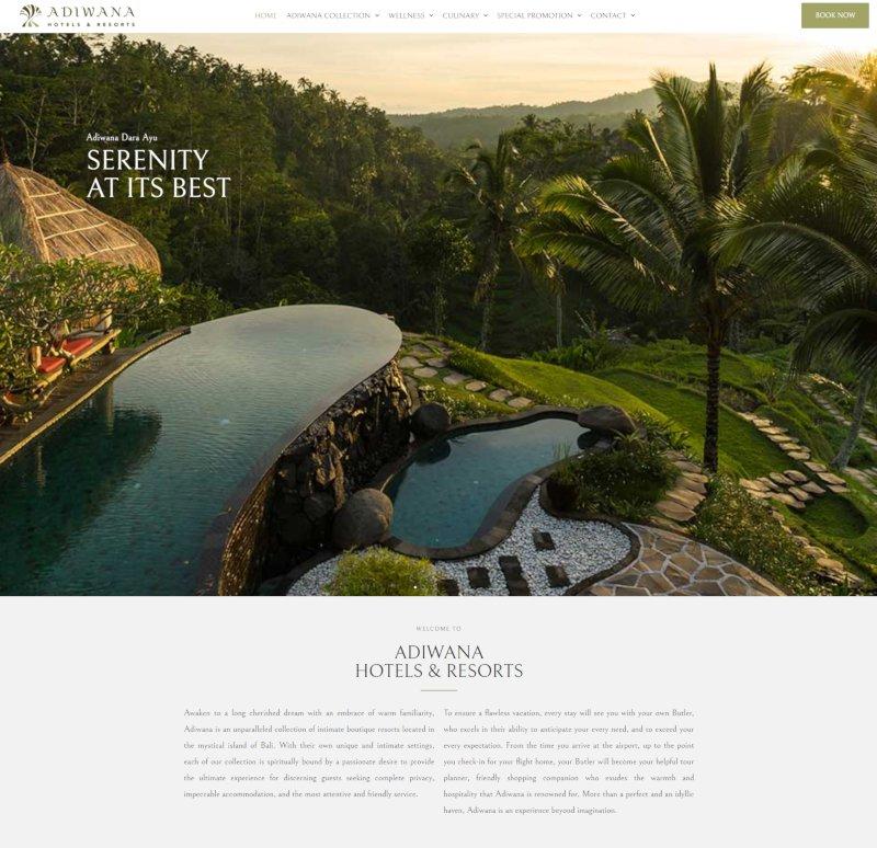 Running Digital Assets & Marketing for Hotel Brand - Website Creation