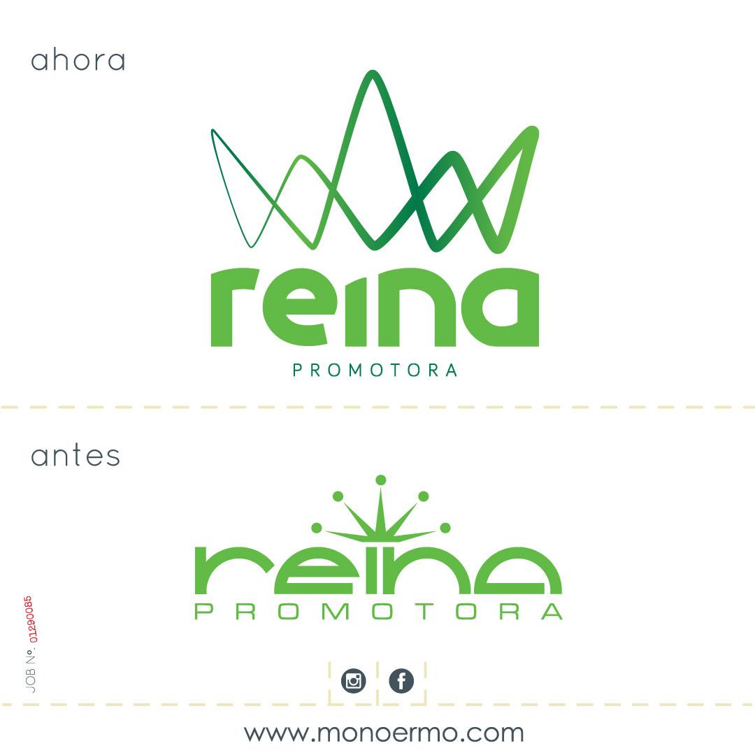 Restyling de logotipo Promotora Reina