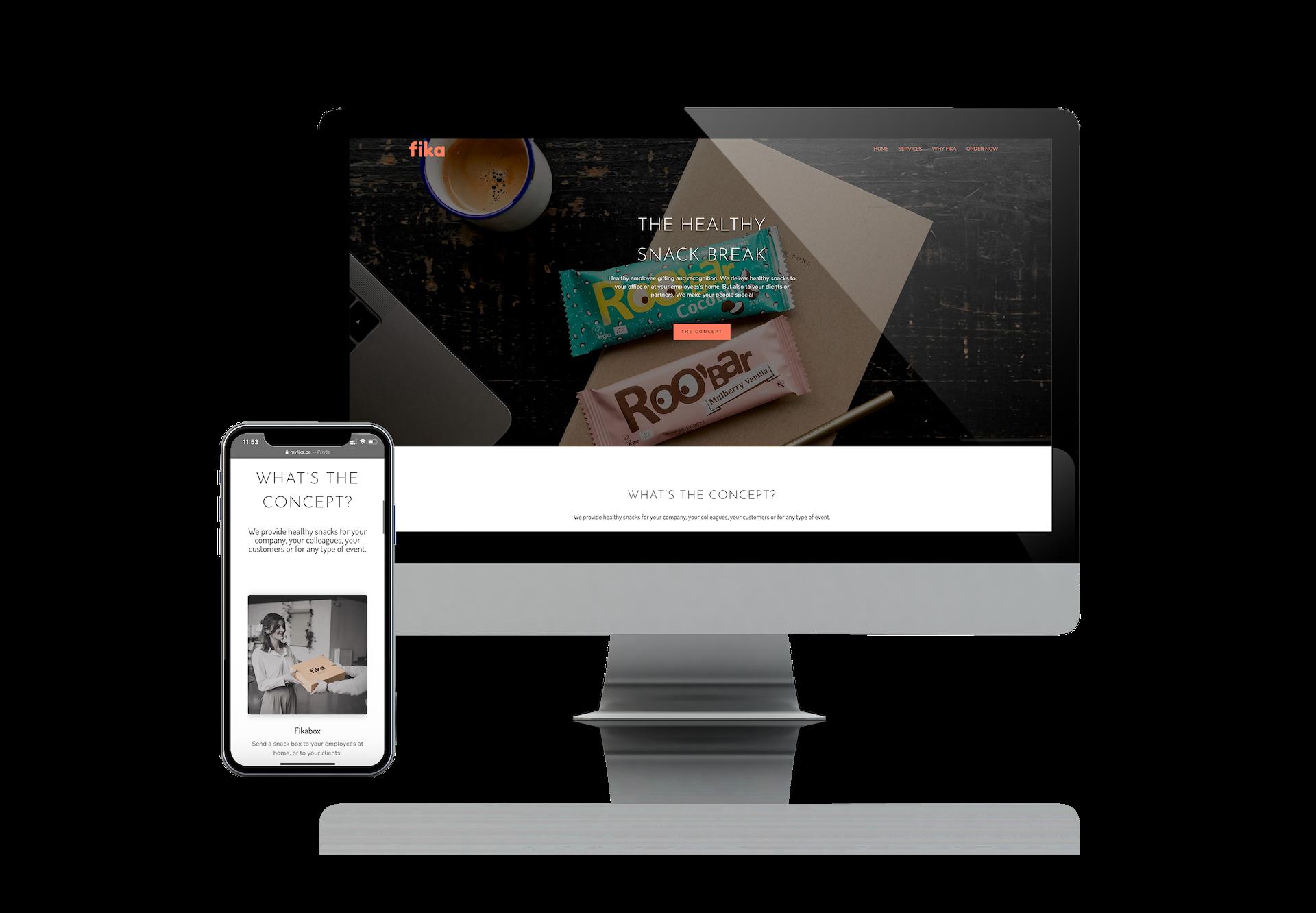 Myfika - Création de site internet