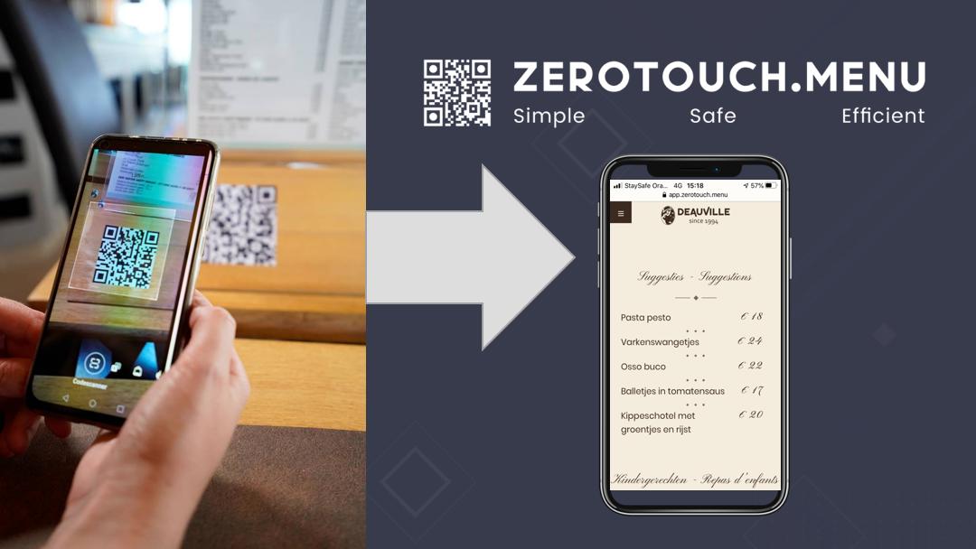 ZeroTouch.menu | Website Creation - Stratégie digitale