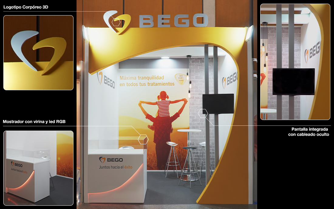 Bego Iberia Stand SEPES 2019