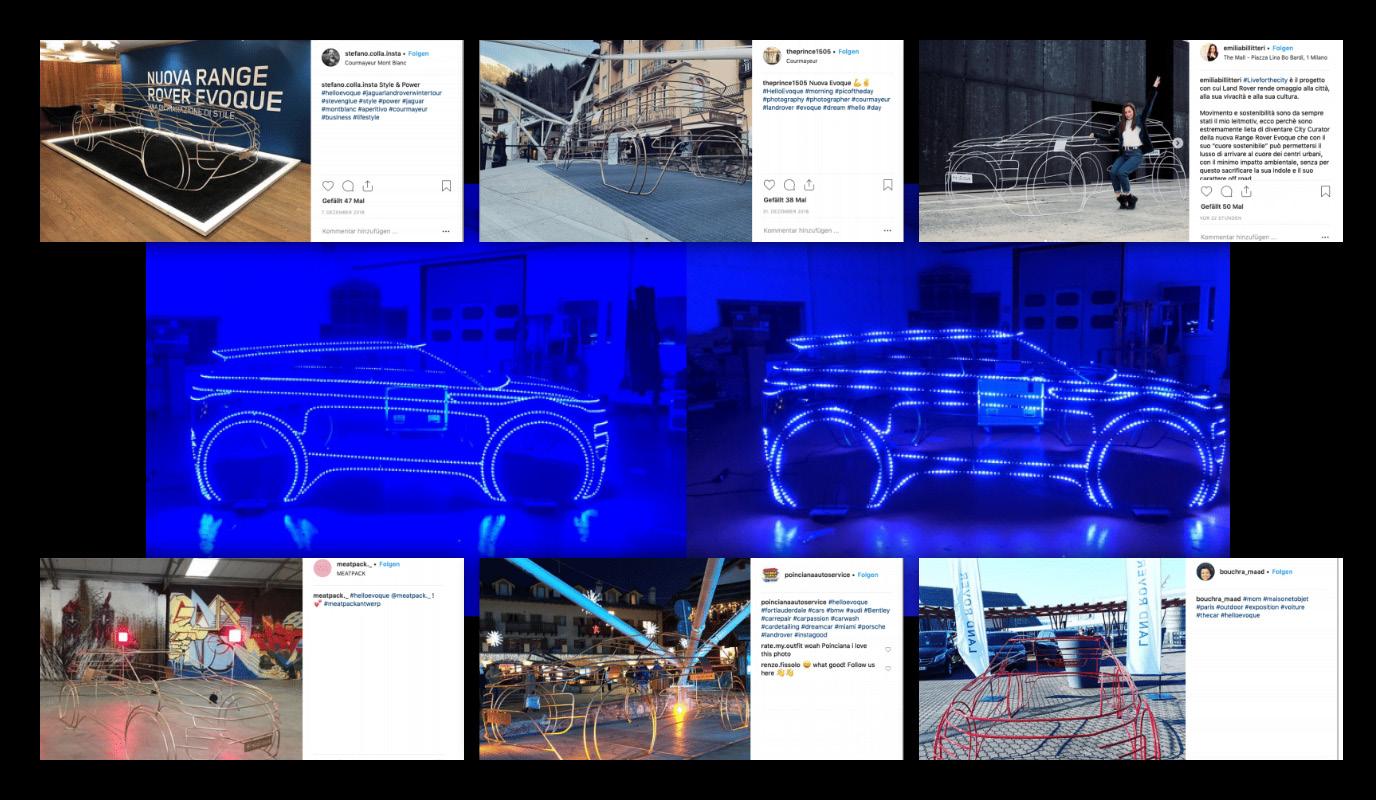 Range Rover Evoque –Produktpräsentation