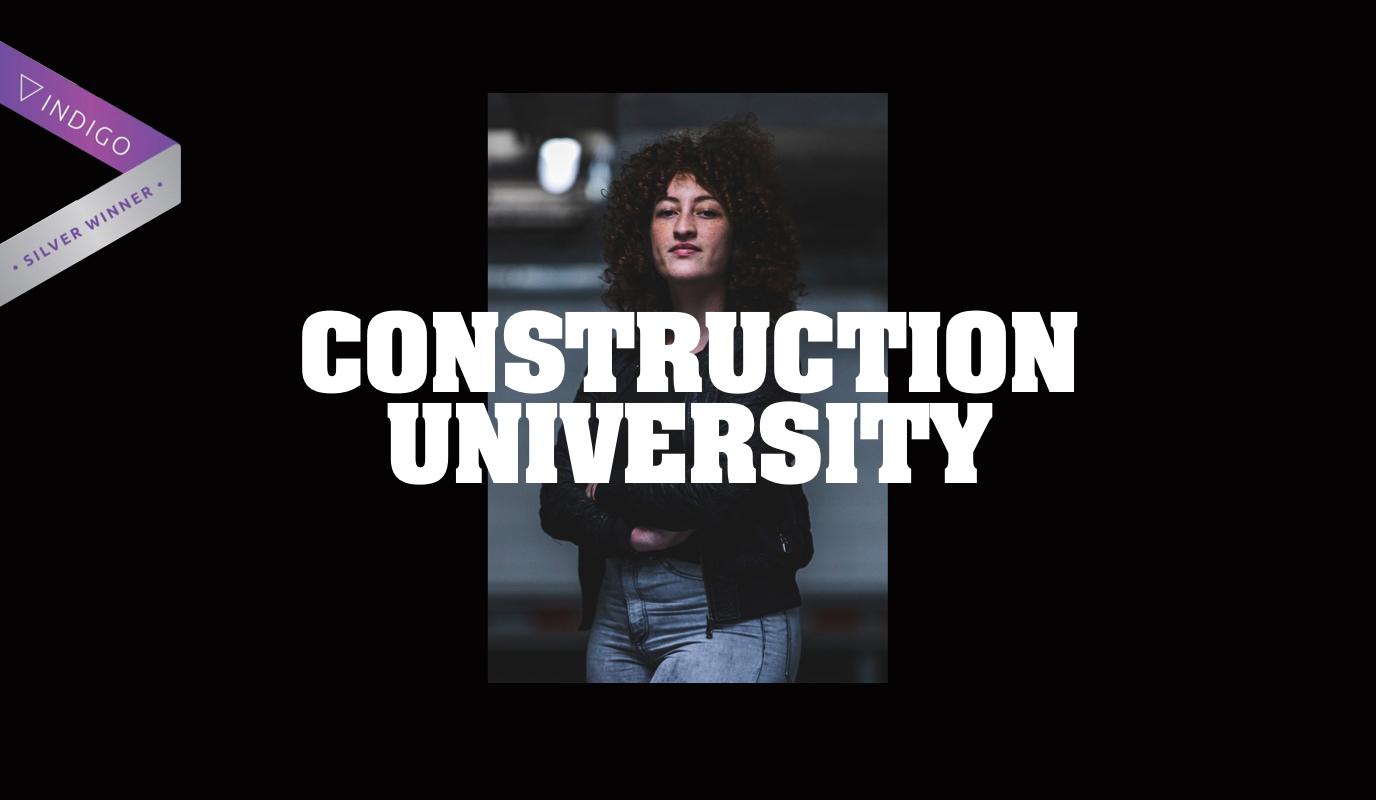 Construction University: Design & website