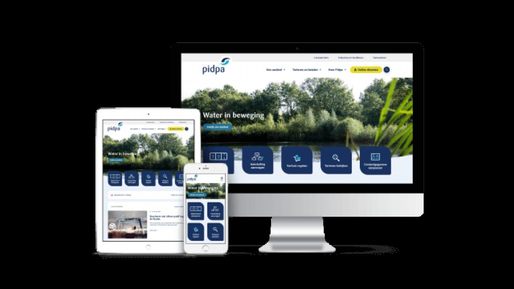 Pidpa - User friendly website & integrations - Web Applicatie