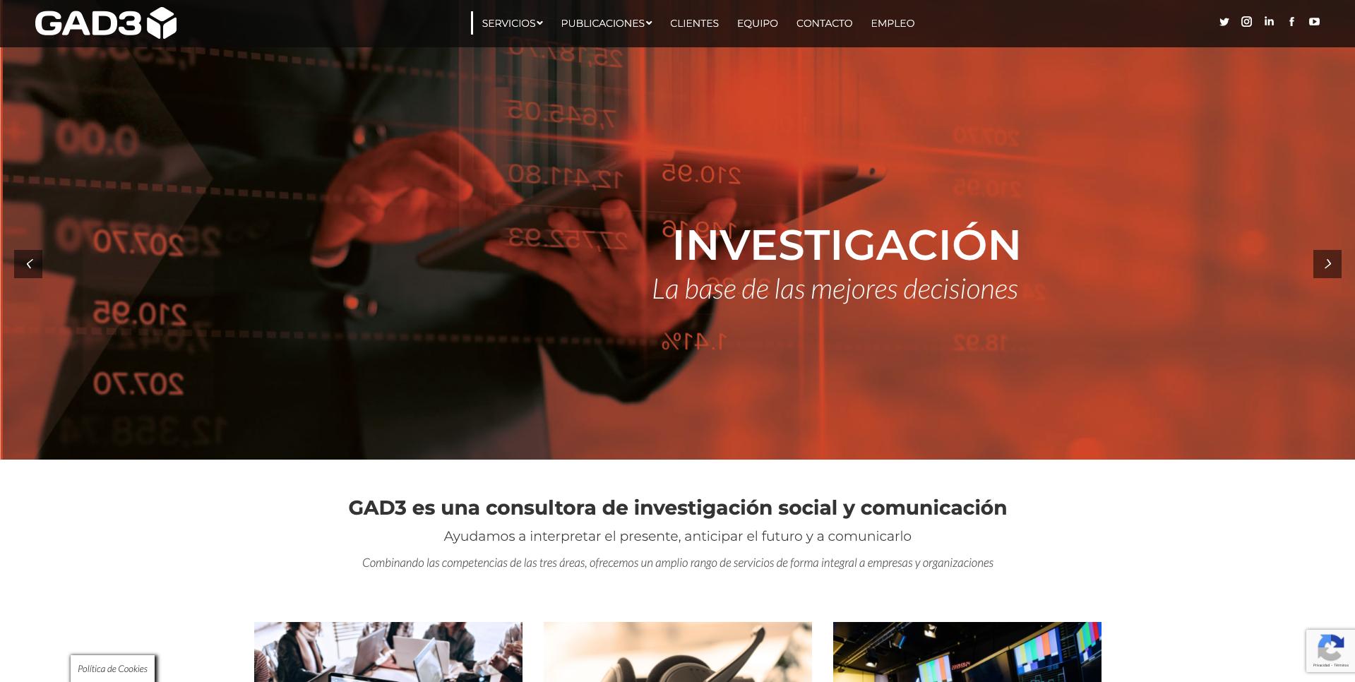 Consultoría de Marketing Digital GAD3 - Estrategia digital