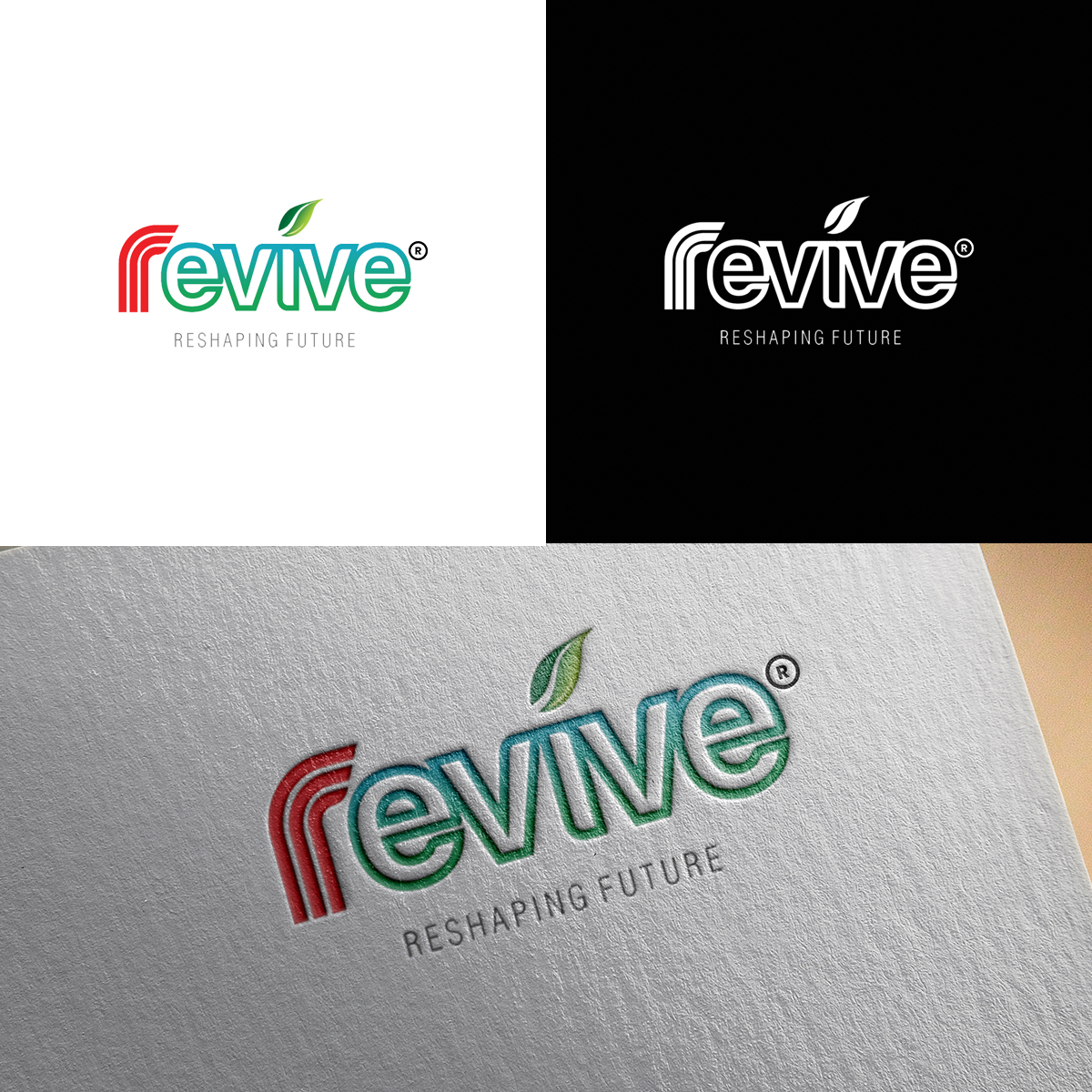 Boundless Technologies designed the logo by Revive