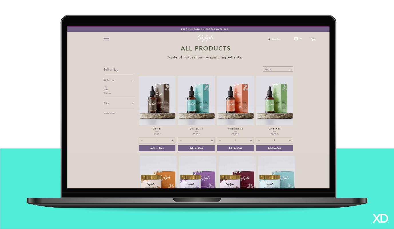 Creation d'un site e-commerce