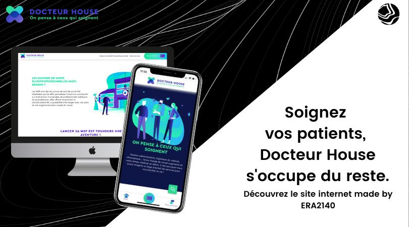 Docteur House pour le groupe Sodexo - Website Creation