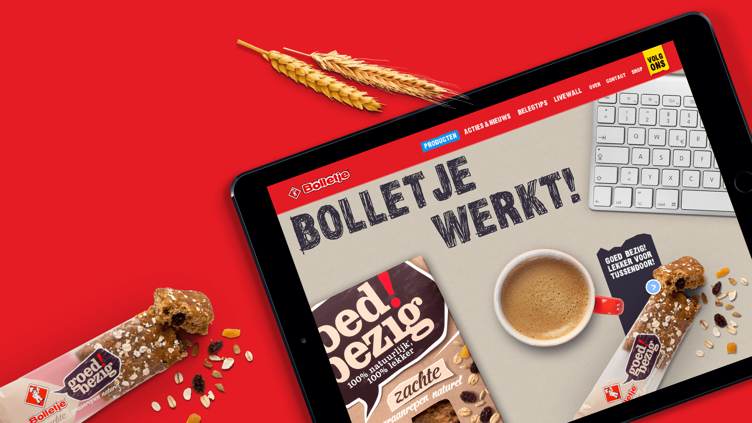 Bolletje - Website - Branding & Positionering
