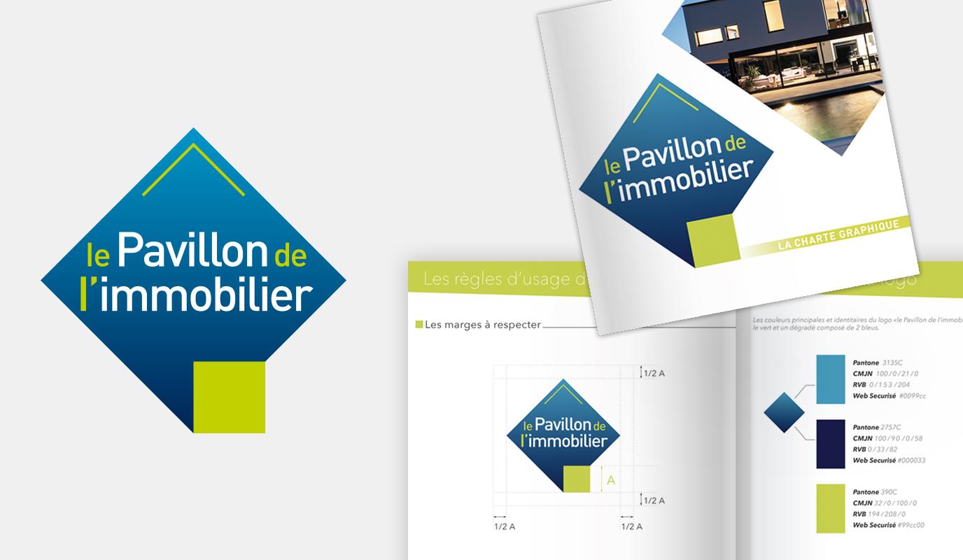 Pavillon de l'Immobilier - Branding & Design - Image de marque & branding