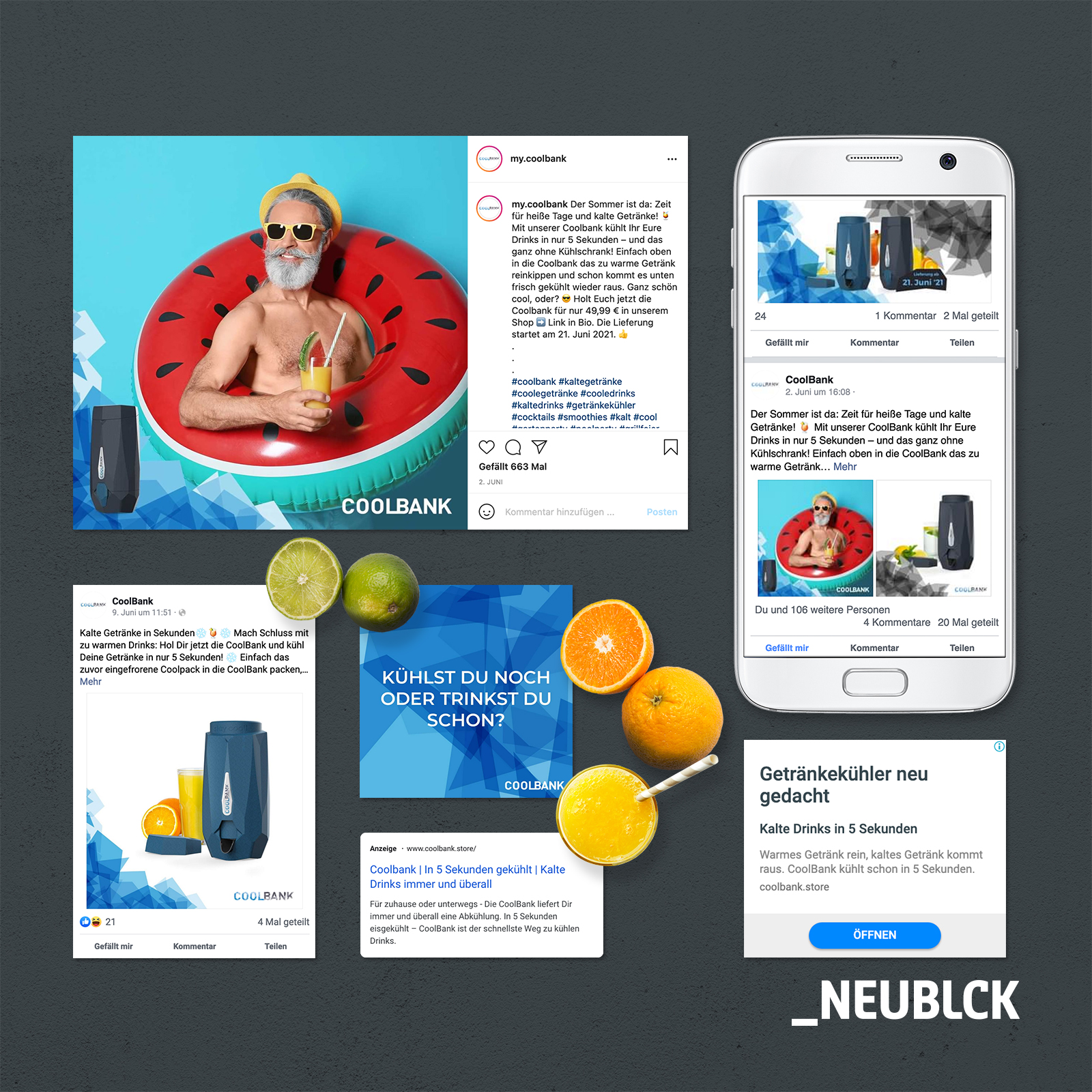 CoolBank: Content & Social Media Marketing - Onlinewerbung