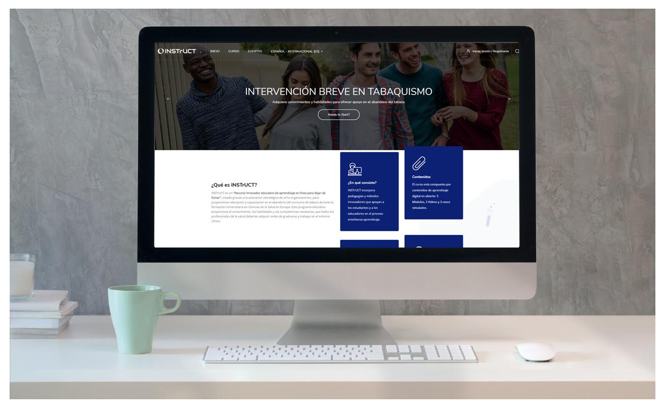 Web INSTrUCT ICO - Creación de Sitios Web