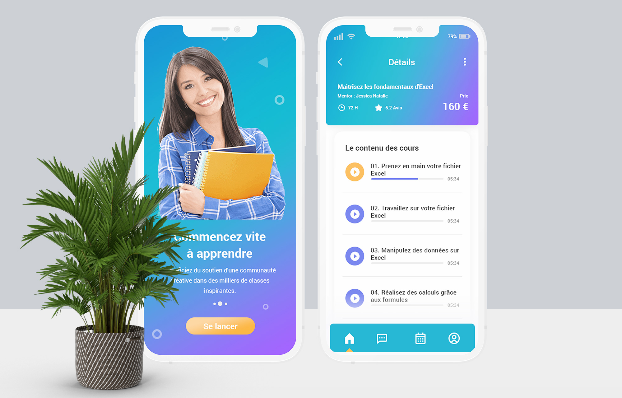Learnyu | Application Mobile - Application mobile