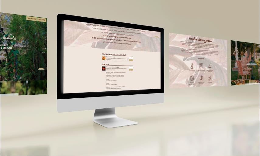Creación  de  Sitio Web y Diseño para Restaurante