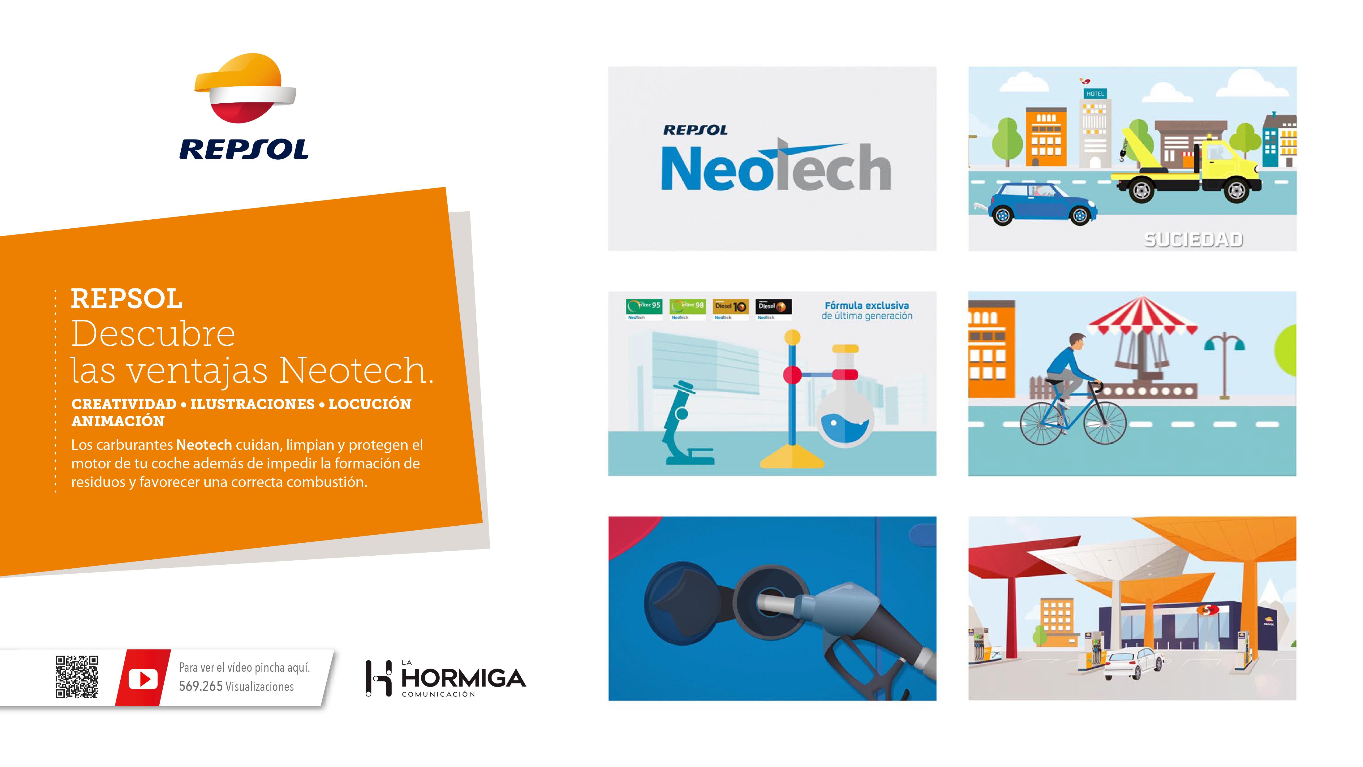 Vídeo Publicitario Repsol  Neotech