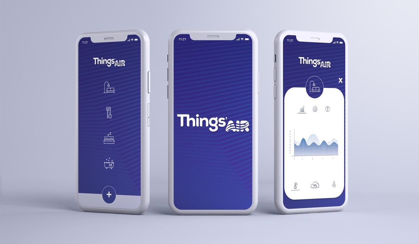 Things'Air - Mockup App Design - Ergonomie (UX/UI)