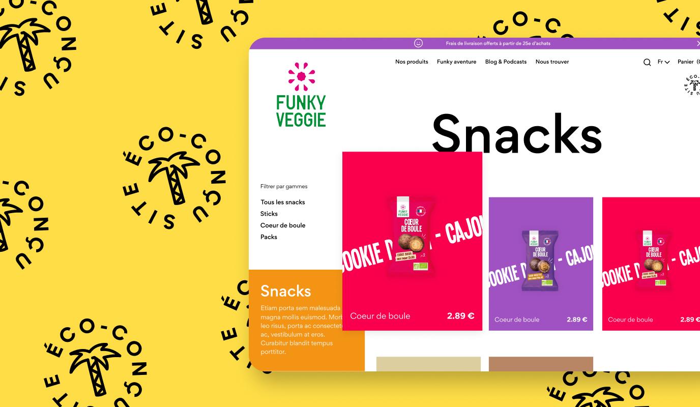 Refonte eco-friendly / Site e-commerce - Website Creation