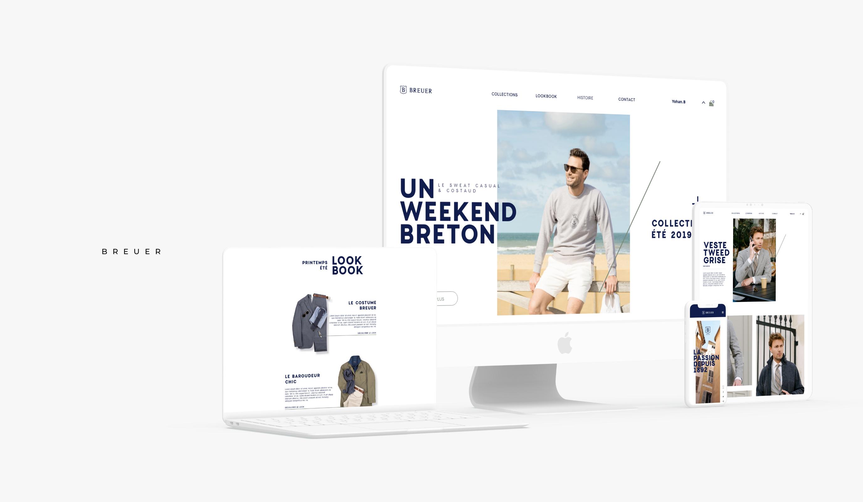 Maison Breuer - Publicité en ligne