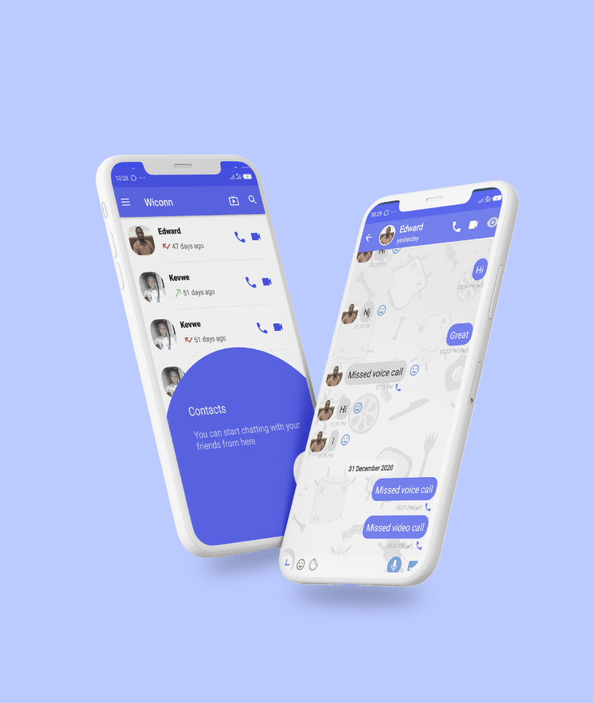 Wiconn – Instant messaging app - Mobile App