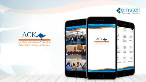 Australian College of Kuwait - Web Application