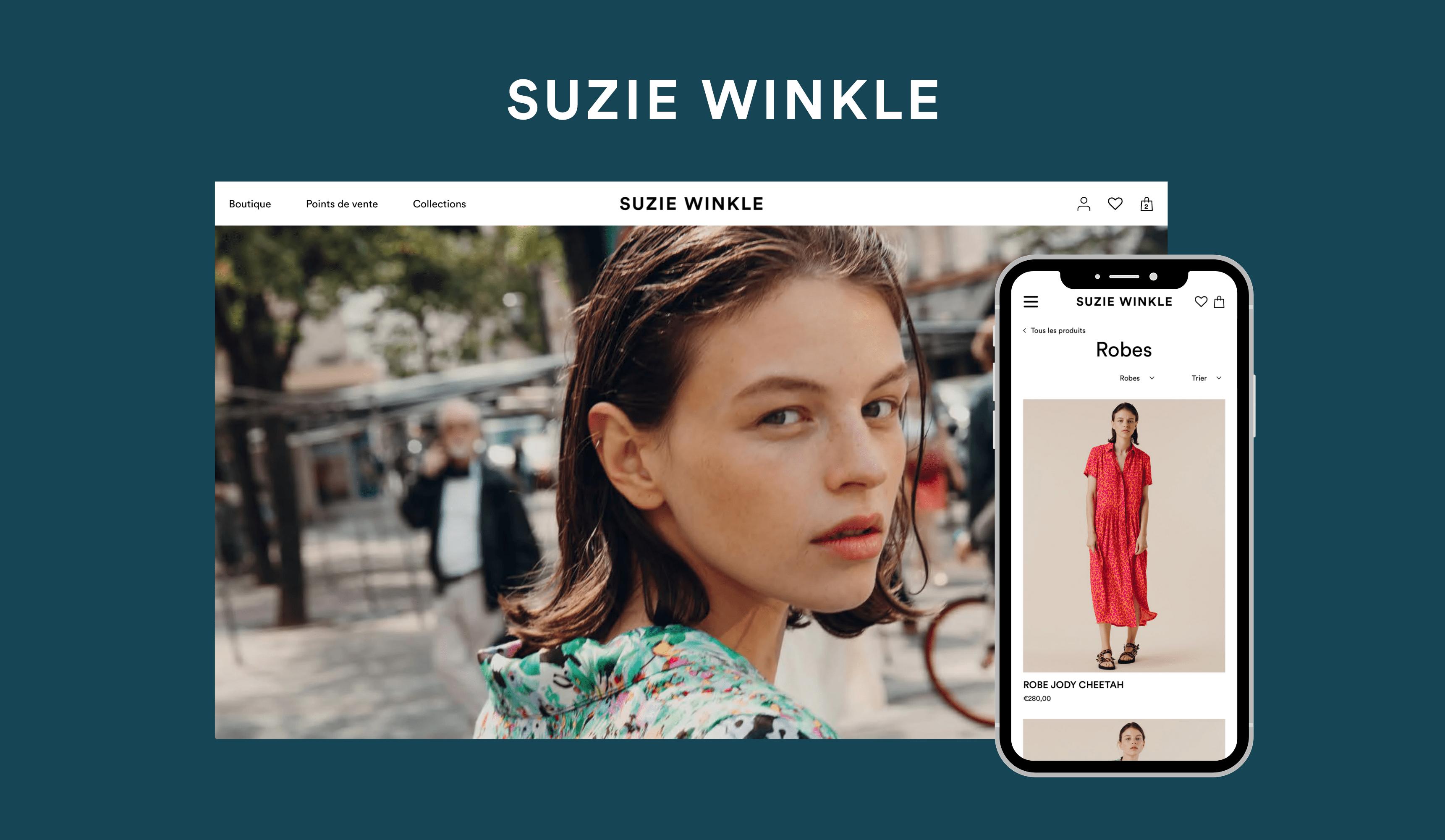 Création boutique Shopify sur mesure Secteur Mode - E-commerce