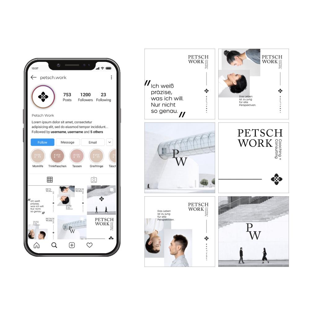 Petschwork Social Media Kampagne - Social Media