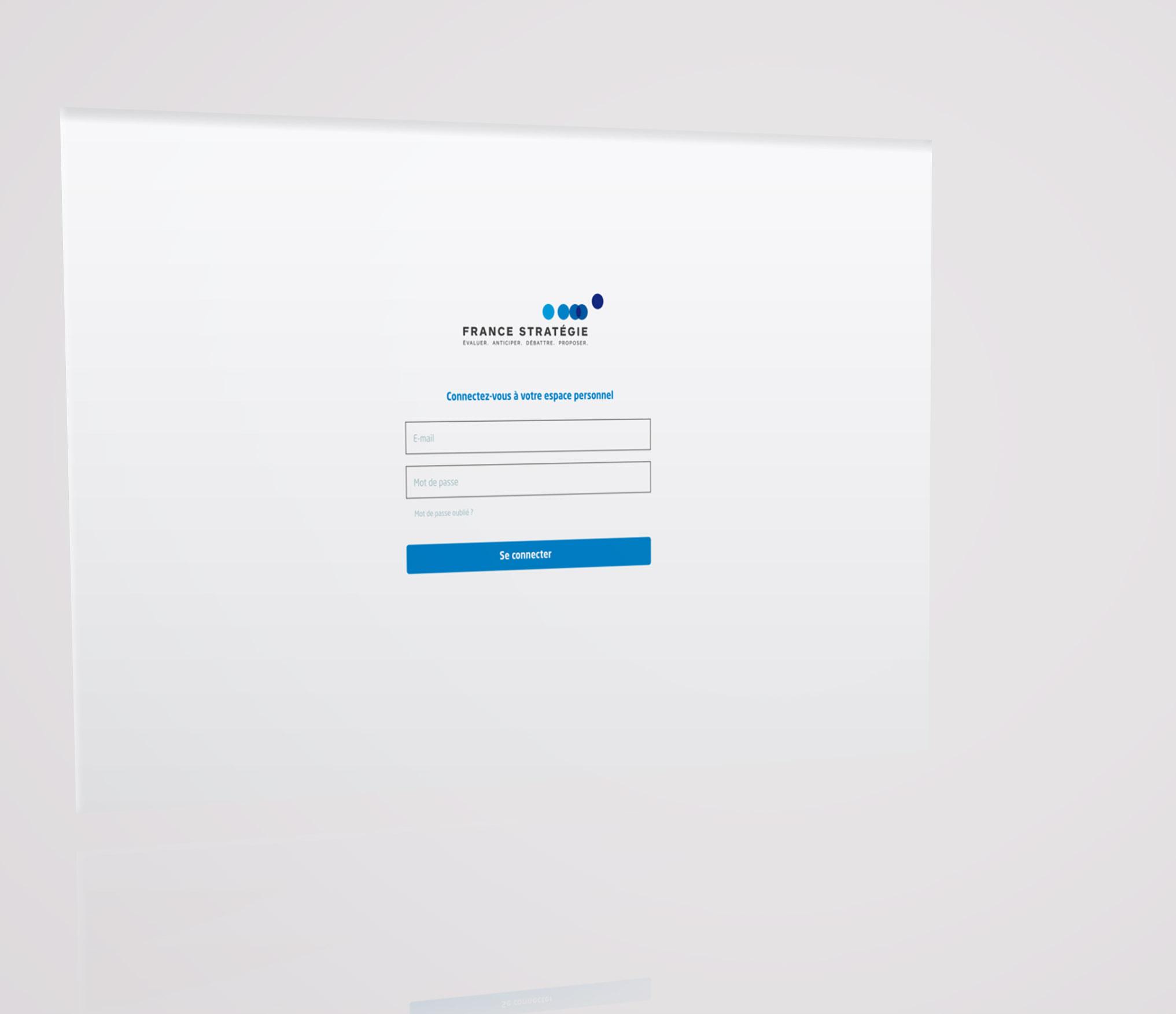 FRANCE STRATEGIE - Web Application