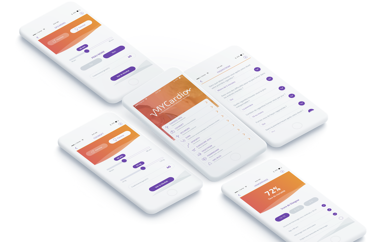MyCardio   Application mobile