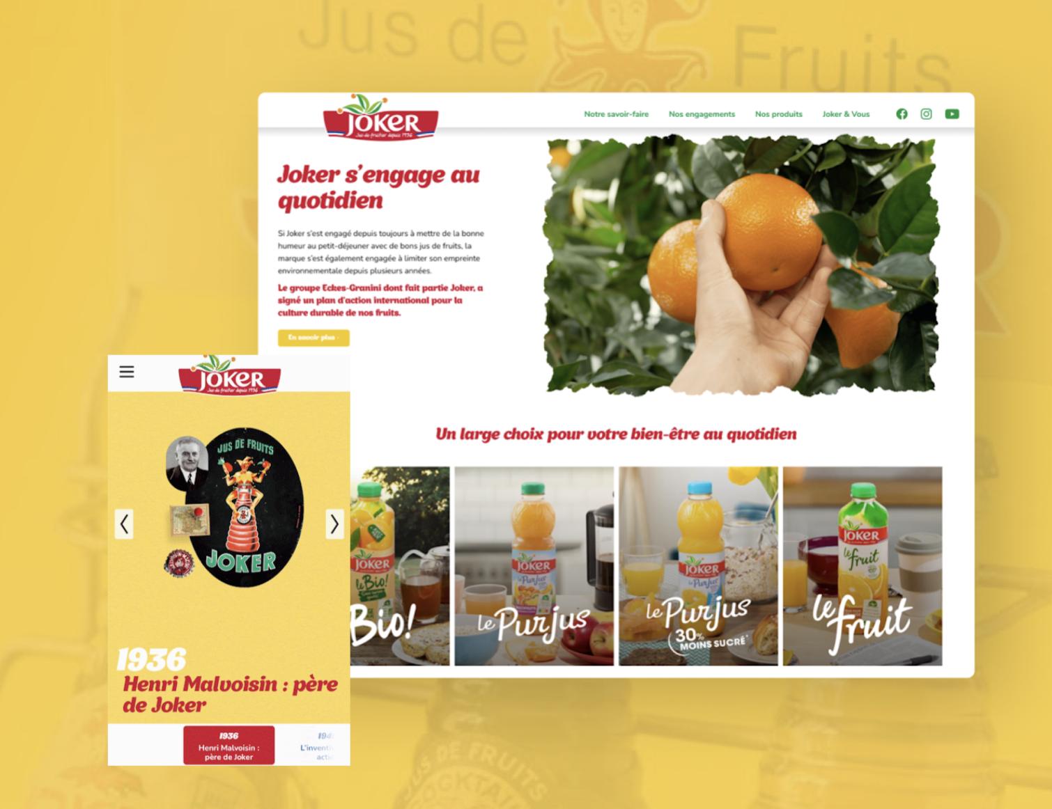 Joker - New Website - E-commerce