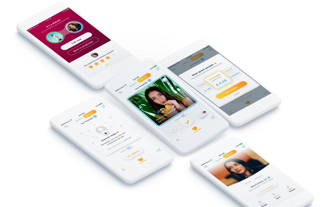 Chaperon   Application mobile