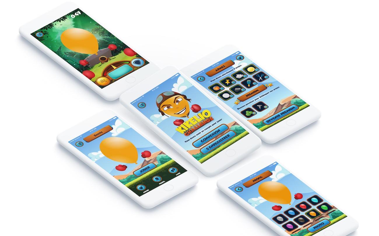 Kikelio Challenge   Application mobile