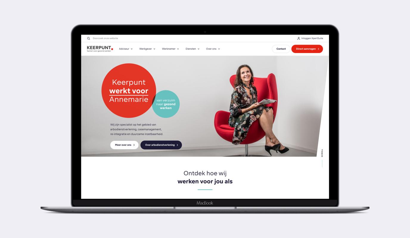 Keerpunt: Branding & website