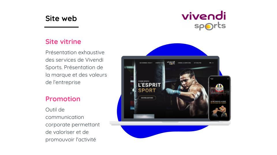 VIVENDI SPORT - Application web
