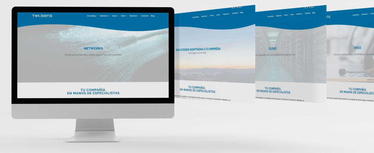 Creación de Sitio Web y Diseño corporativo - Creación de Sitios Web