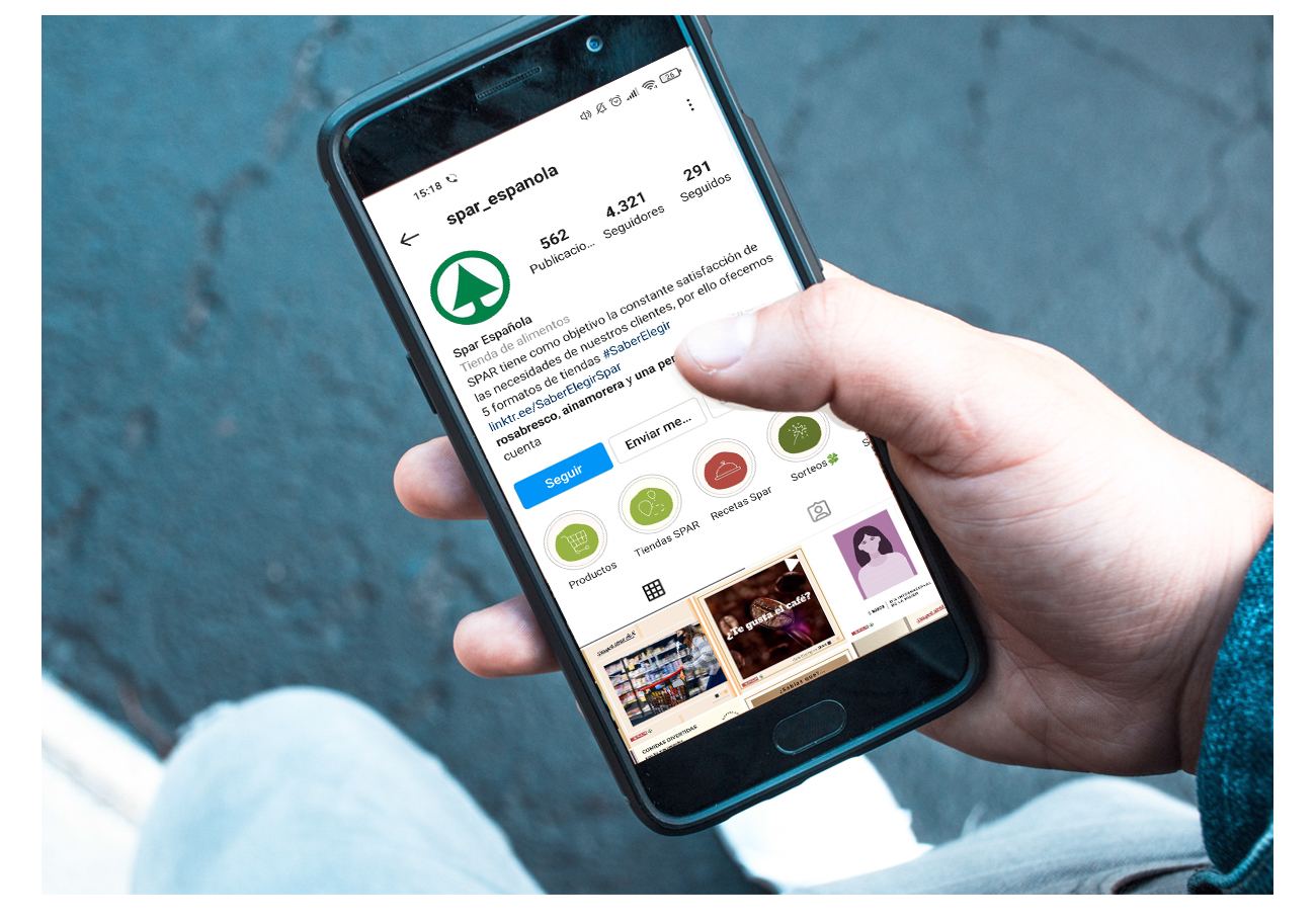Redes sociales SPAR - Estrategia digital