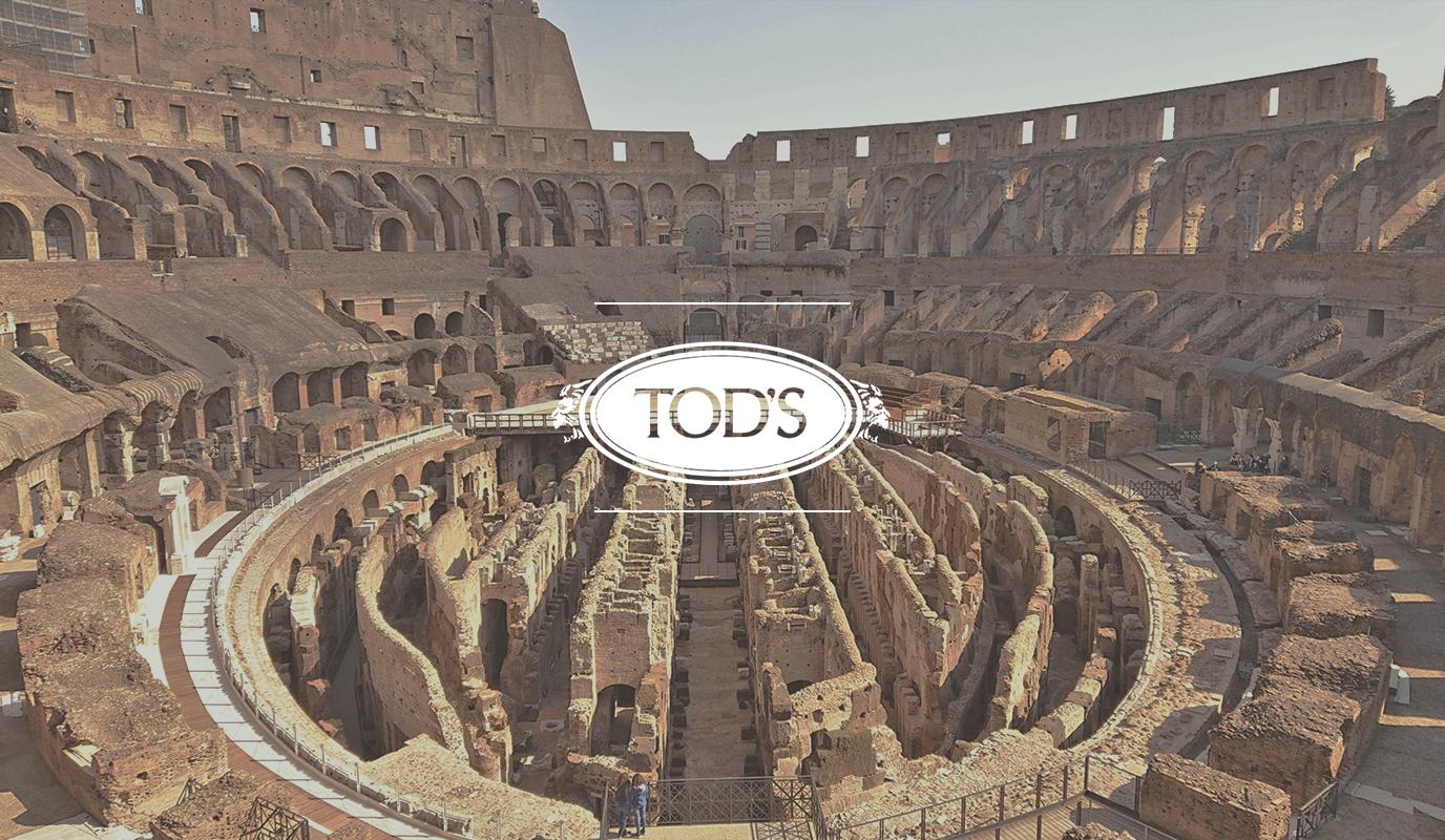Tod's · Restauración de la Hipogea del Coliseo - Relaciones Públicas (RRPP)