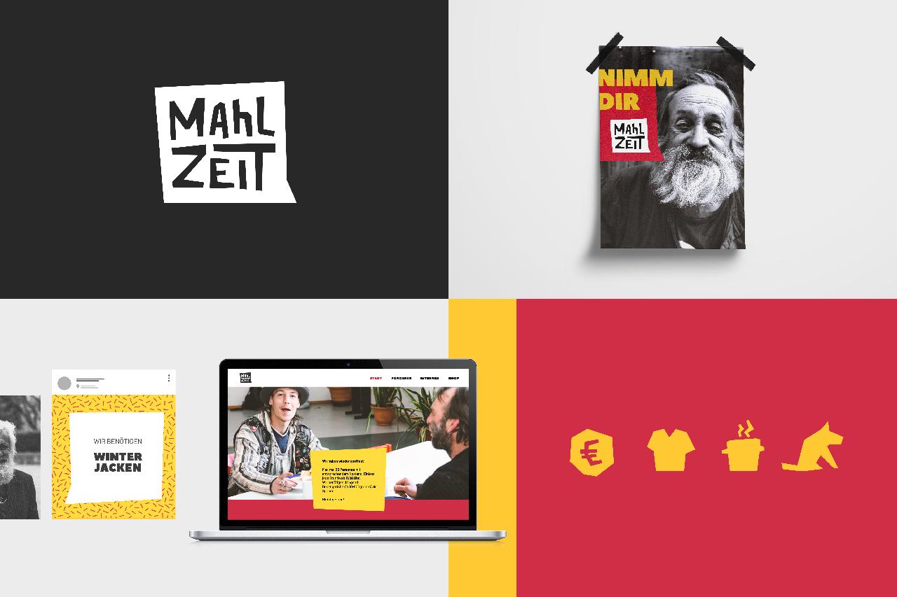 Rebranding MAhLZEIT - Grafikdesign