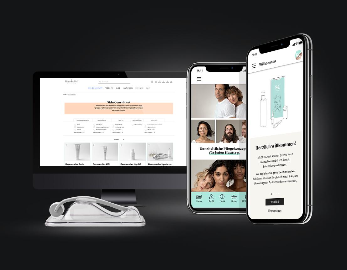eCommerce - Dermaroller - Webseitengestaltung