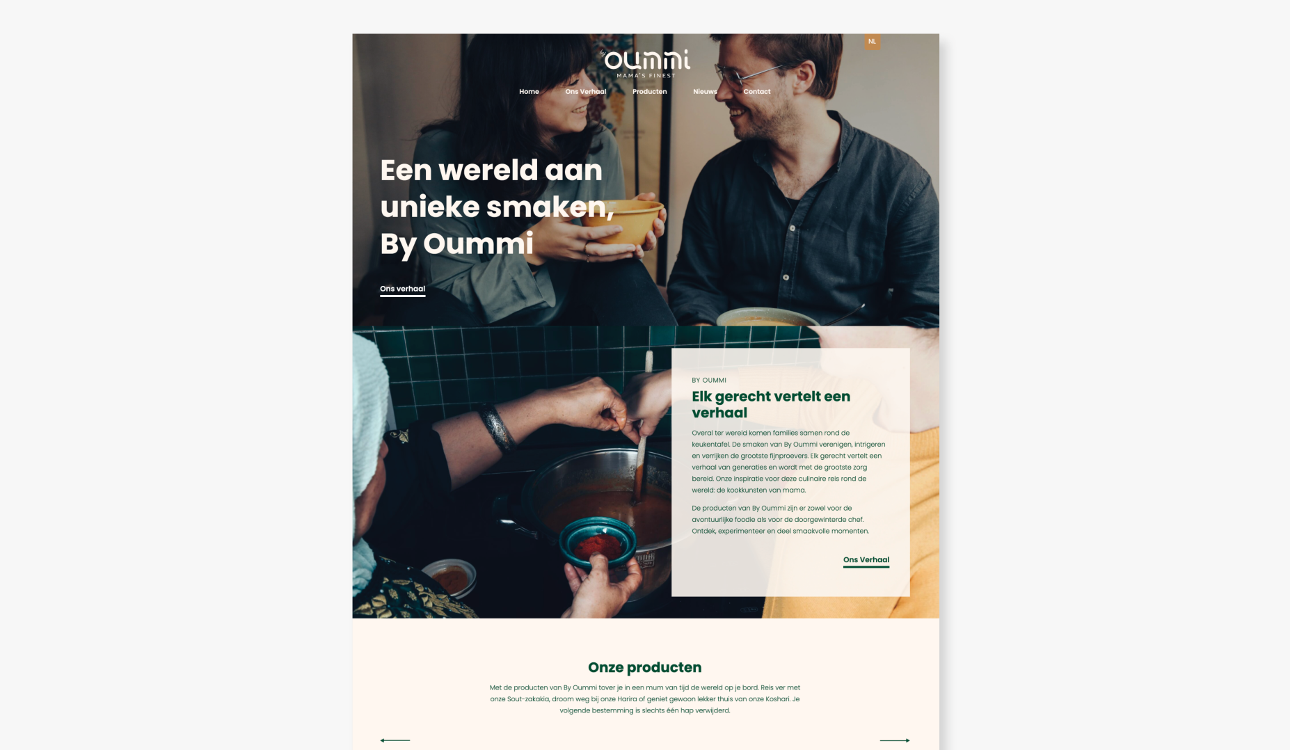 By Oummi - Launch - Website Creatie