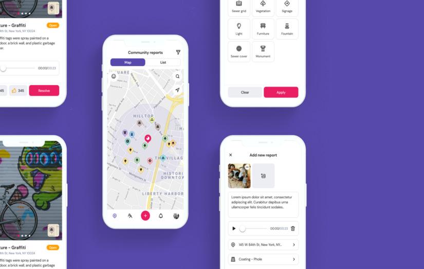 Mobile app development for local municipalities - Mobile App