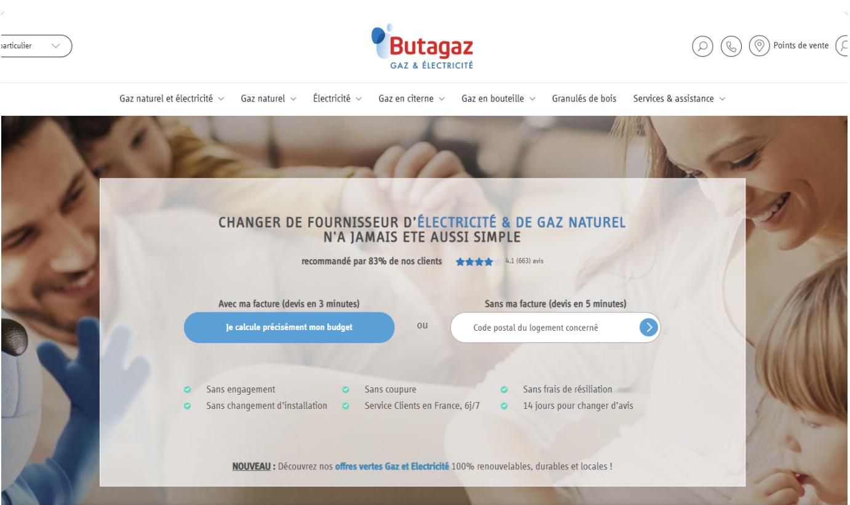 Butagaz- Développement de l'espace client