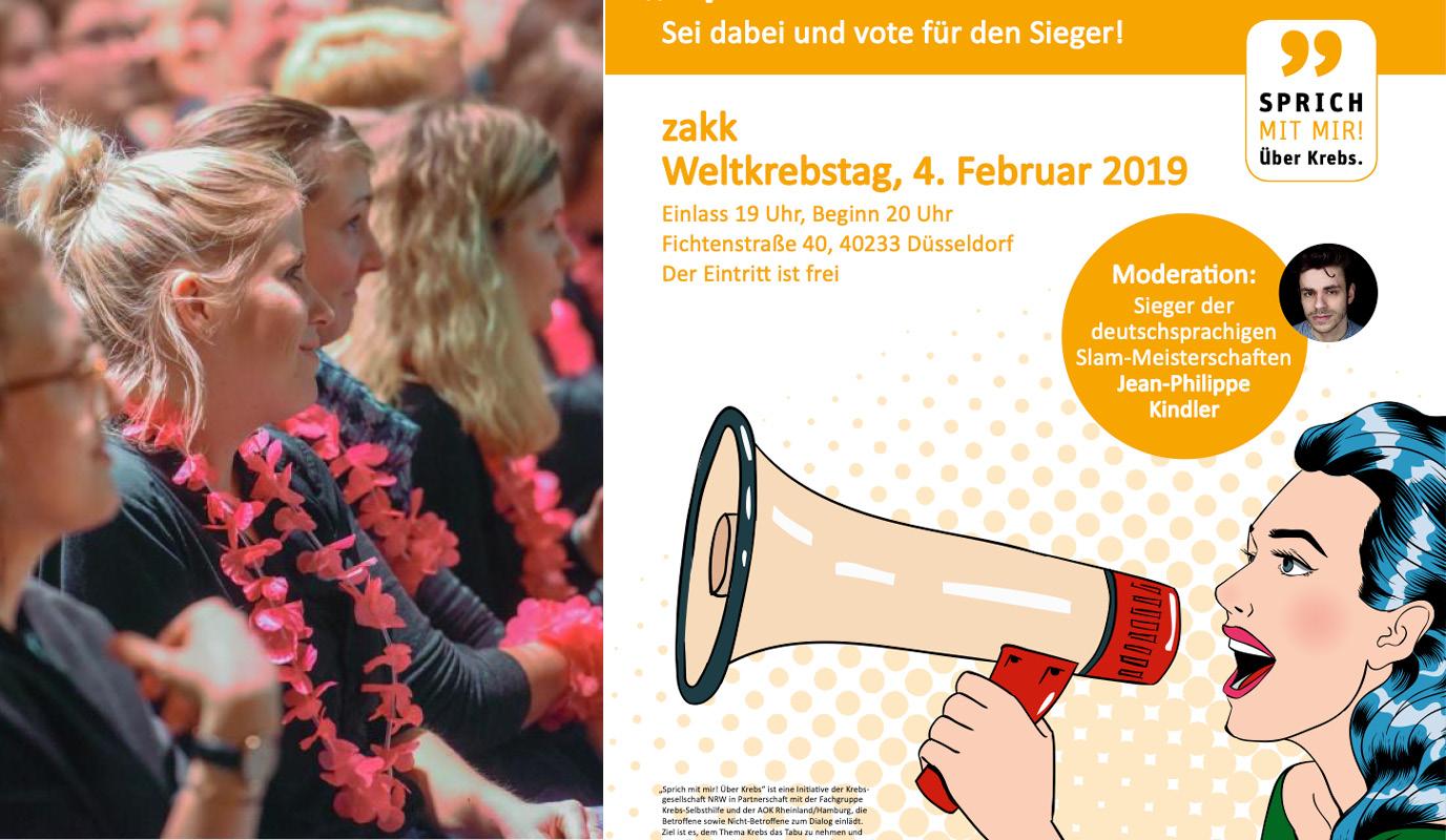 """Kampagne """"Sprich mit mir. Über Krebs."""" KG NRW - Werbung"""